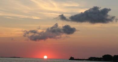 La salida del Sol desde Nueva York, Estados Unidos