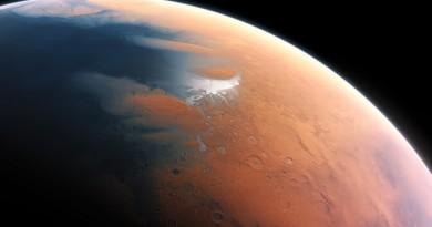 Marte tuvo un océano que cubrió casi la mitad de su hemisferio norte