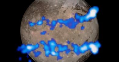 Ganímedes, la luna más grande de Júpiter, alberga un enorme océano