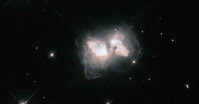 La Nebulosa AFGL 4104, una mariposa interestelar