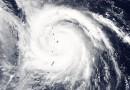 El súper tifón Nangka sobre las Islas Marianas