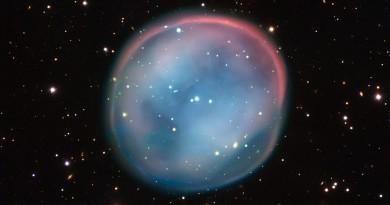 ESO 378-1, el fantasma de una estrella moribunda