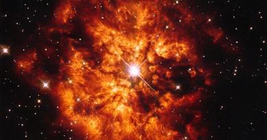 La estrella WR 124 y la Nebulosa M1-67: una pareja cósmica