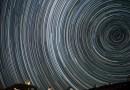 Rastro de estrellas desde el Observatorio La Silla (Chile)