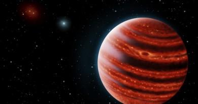 Astrónomos descubren a un exoplaneta joven similar a Júpiter