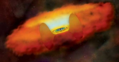 Astrónomos descubren un diminuto agujero negro supermasivo