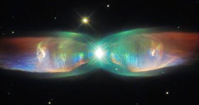 Las alas de mariposa de la Nebulosa PN M2-9
