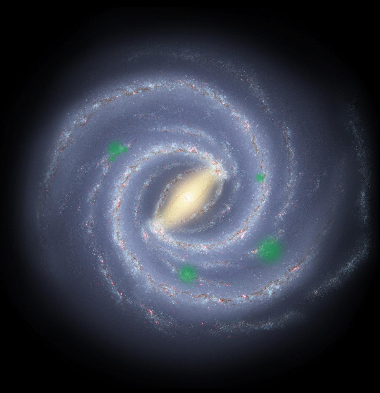 форма нашей галактики картинки искусство вошло