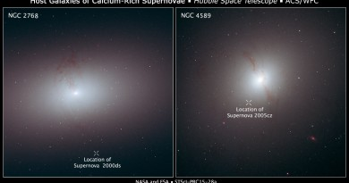 Las extrañas supernovas errantes