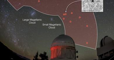 Descubren ocho galaxias enanas cerca de la Vía Láctea
