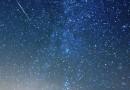 Una perseida y la Vía Láctea desde Nuevo México, EE. UU.