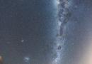 La Vía Láctea desde Nueva Zelanda