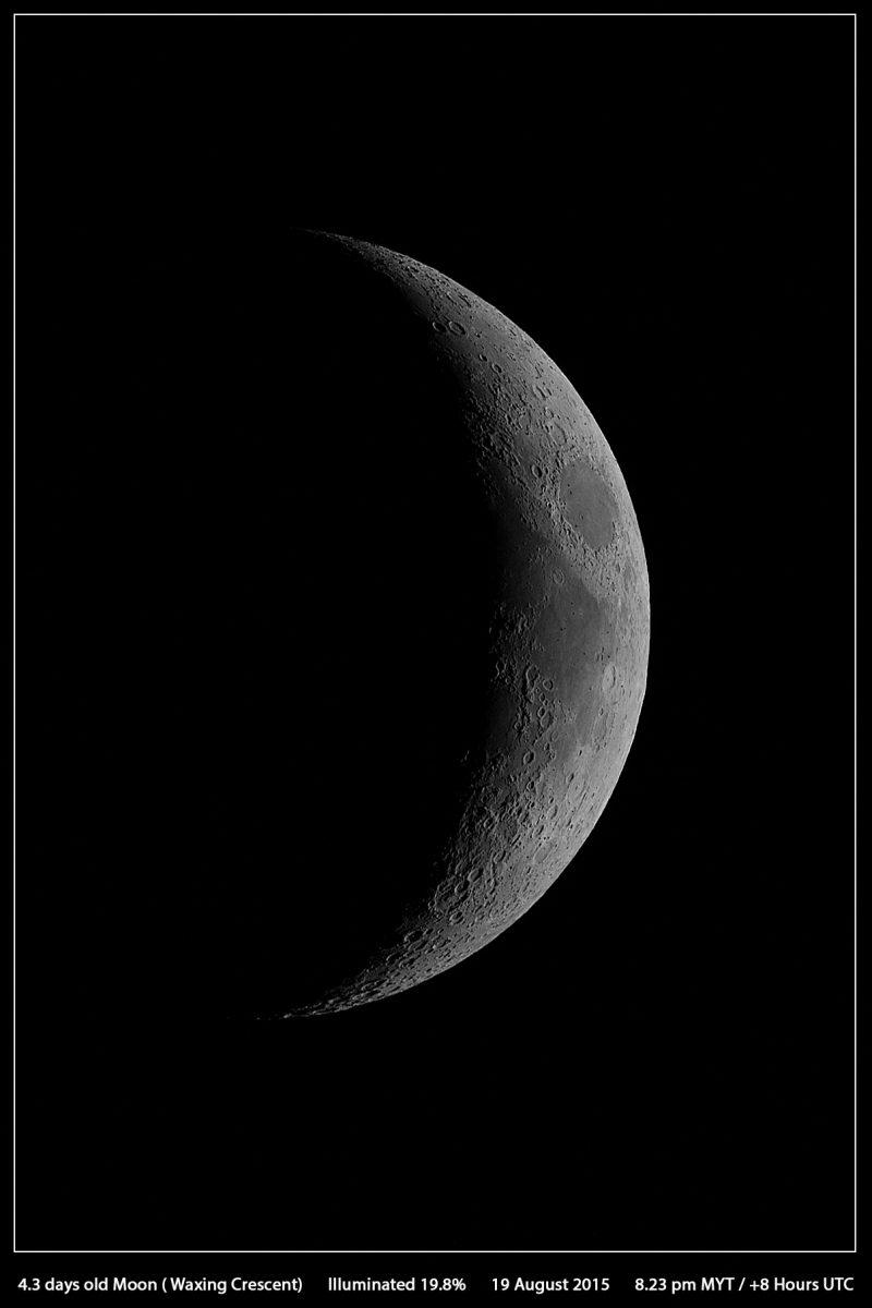 Foto de la Luna desde Malasia – El Universo Hoy