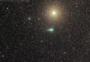 El Cometa C/2013 US10 (Catalina) y la estrella Atria