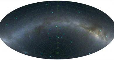 Descubren un anillo de 5.000 millones de años luz de diámetro