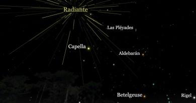 La lluvia de meteoros de las Perseidas alcanzará su máximo la madrugada del 13 de agosto