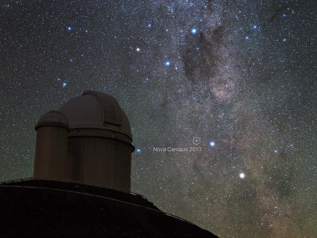 Nova Centauri 2013. Crédito: Y. Beletsky (LCO)/ESO