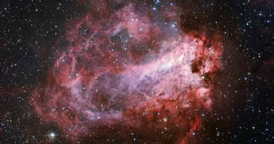 La Nebulosa M17: una rosa cósmica con múltiples nombres