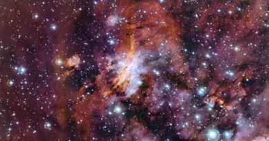 El reciclaje cósmico de la Nebulosa Gum 56