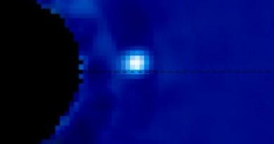 La mejor imagen de un exoplaneta orbitando su estrella anfitriona