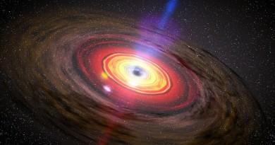 Descubren un agujero negro 30 veces más masivo de lo esperado