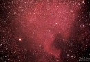 Foto de la Nebulosa Norteamérica (NGC 7000)