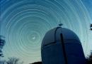 Fot de rastro de estrellas desde Cosalá, Sinaloa (México)