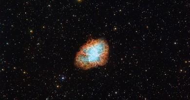 La Nebulosa NGC 1952: los remanentes de un estallido de supernova