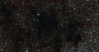 La nebulosa oscura C99: un saco de carbón cósmico