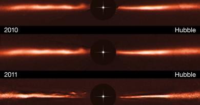 Ondas misteriosas haciendo carreras en un disco de formación de planetas