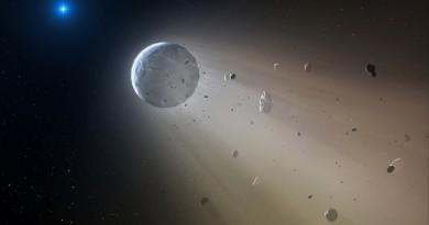 Descubren una 'estrella de la muerte' destrozando un planeta
