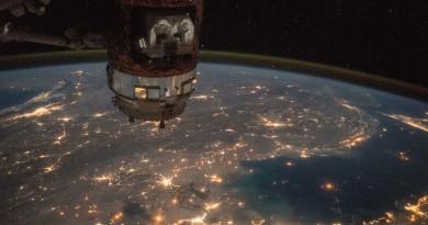 Kuwait, Irak, Irán y el Golfo Pérsico desde la Estación Espacial Internacional