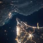 Dubái desde la Estación Espacial Internacional