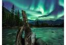 Auroras boreales desde el Yukón, Canadá