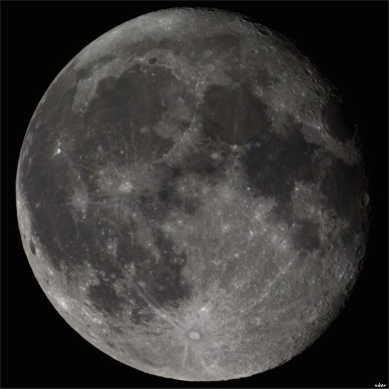 La Luna desde Atenas, Grecia – El Universo Hoy