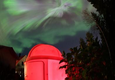 Auroras boreales desde Suecia