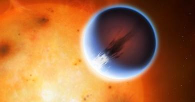 Descubren vientos que superan los 2 kilómetros por segundo en un exoplaneta