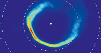 Fotografían los restos de un asteroide destruido por una estrella enana blanca