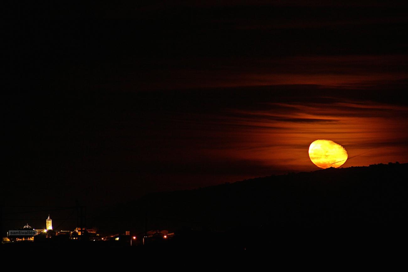 La salida de la luna en alicante espa a el universo hoy for Calendario lunar hoy