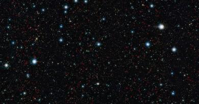 Descubren una horda de galaxias gigantes del Universo temprano