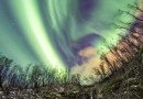 Auroras boreales desde Abisko, Suecia