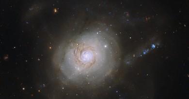 NGC 7252: el resultado de una colisión galáctica