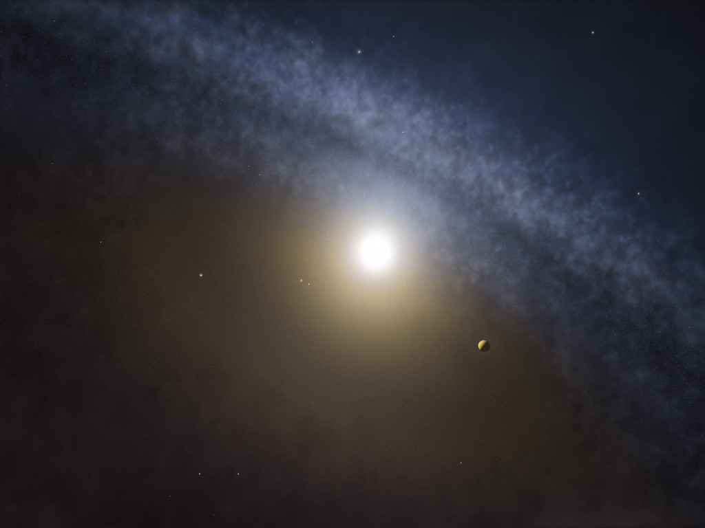 Astronomers using the Atacama Large Millimeter/submillimeter Array (ALMA) have found telltale differences between the gaps in the gas and the dust in discs around four young stars. These new observations are the clearest indications yet that planets with masses several times that of Jupiter have recently formed in these discs.