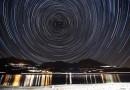 Foto de rastro de estrellas desde Francia