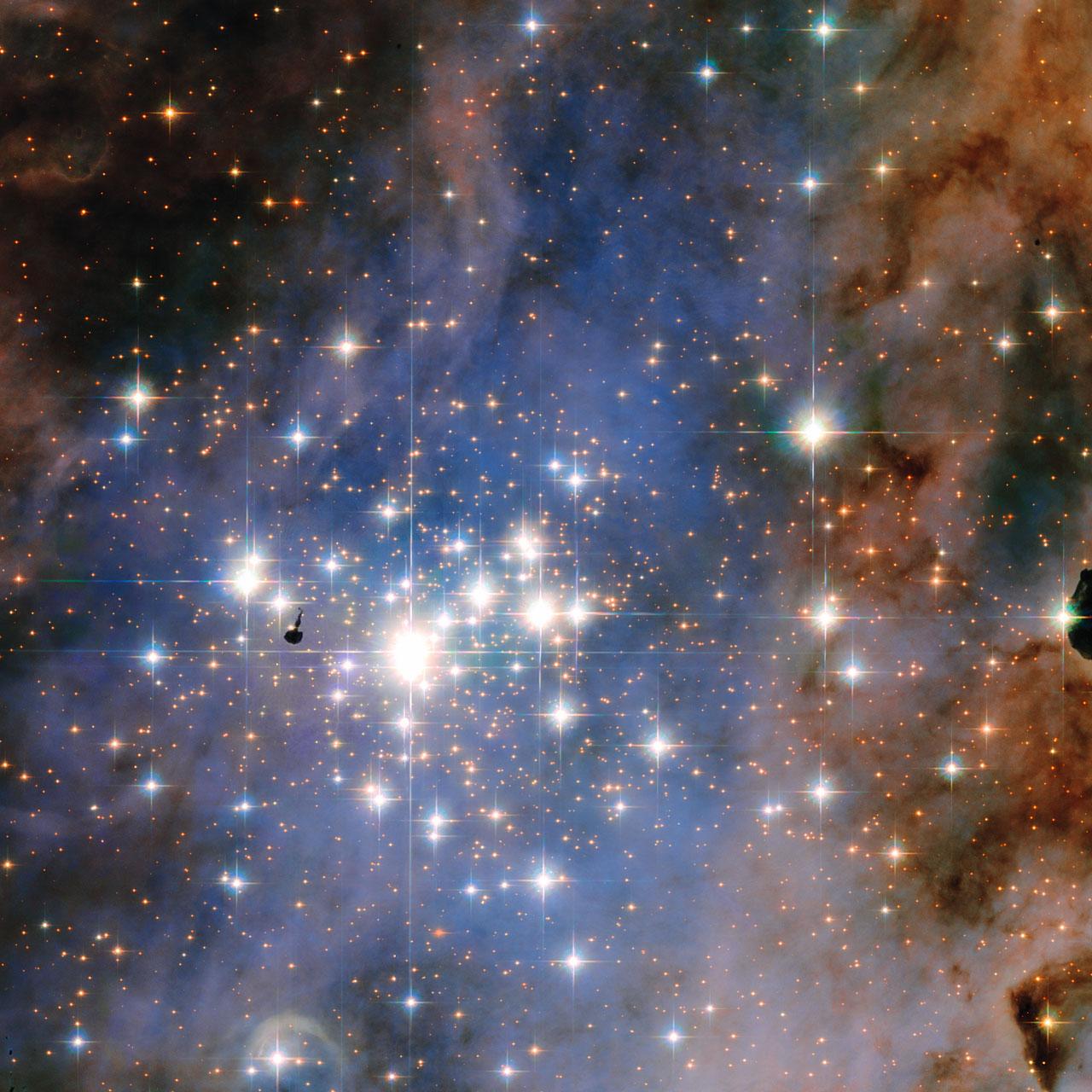 El cúmulo estelar Trumpler 14 es hogar de algunas de las estrellas más  brillantes en la Vía Láctea - El Universo Hoy