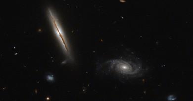 El extraño comportamiento de la galaxia espiral LO95 0313-192