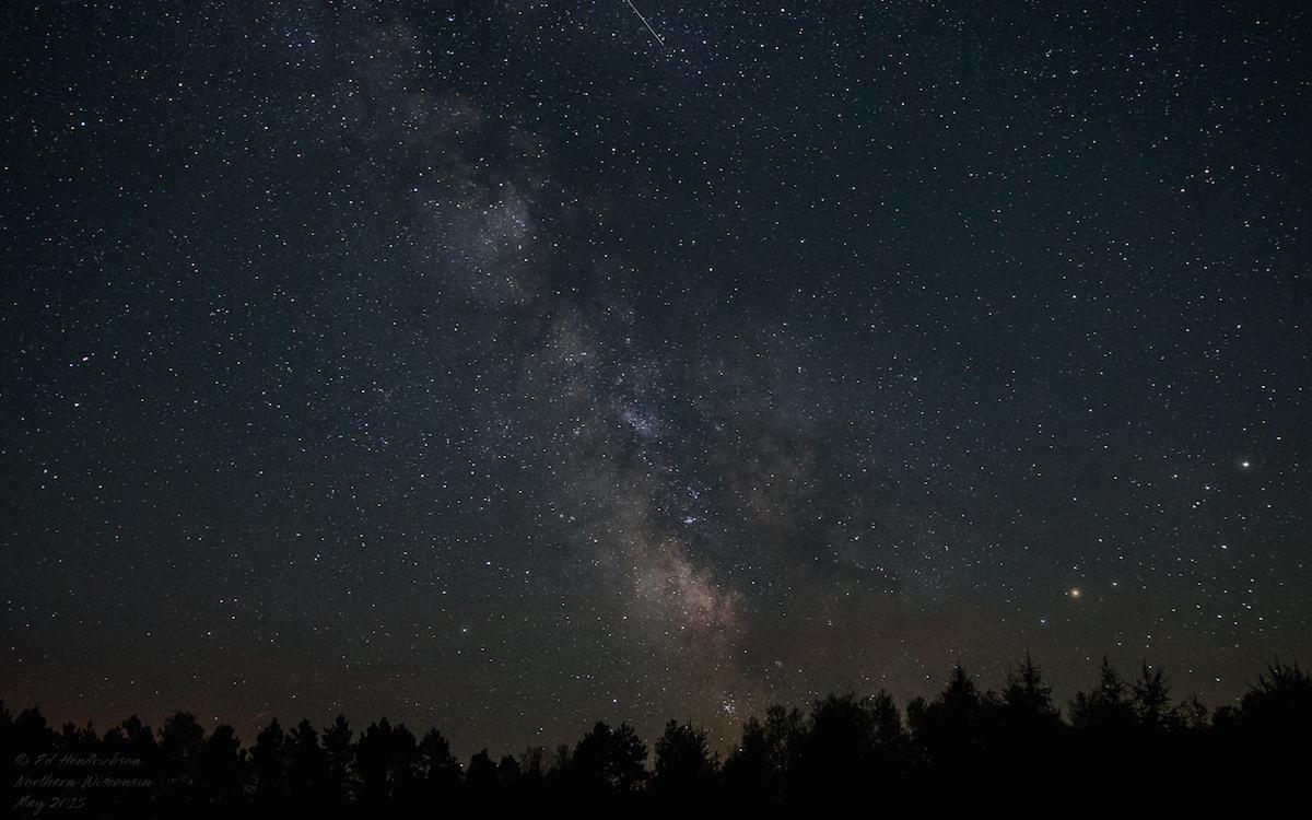 La Vía Láctea desde el norte de Wisconsin, Estados Unidos – El ...