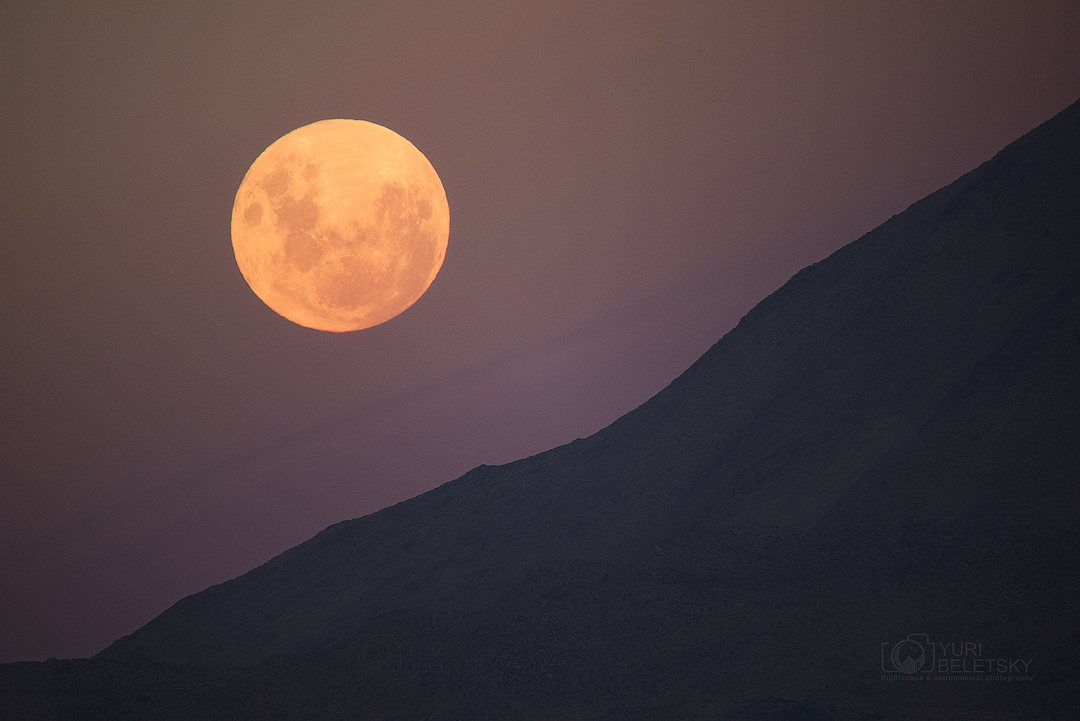 La luna llena desde atacama chile el universo hoy for Calendario lunar de hoy