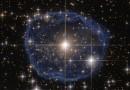 WR 31a: una estrella encerrada en una burbuja azul