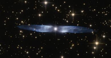 Las alas azules de la nebulosa planetaria Hen 2-437